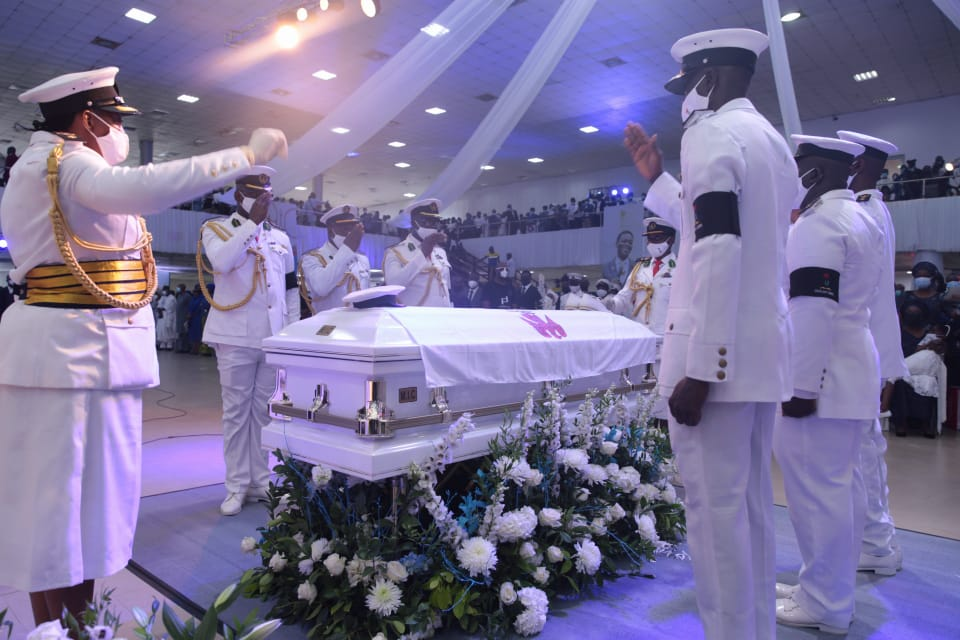 The remains of Leke Adeboye laid to rest