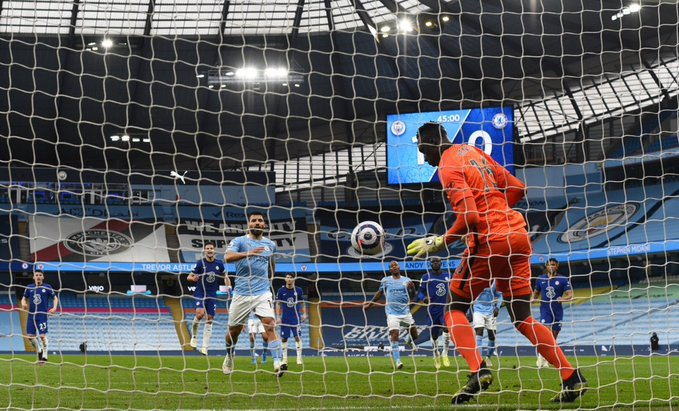 Aguero apologises to teammates, fans after disastrous penalty kick