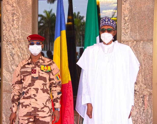 President Muhammadu Buhari: assures Chad's new leader Mahamat Idriss Deby
