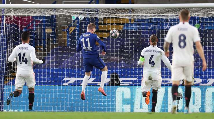 Chelsea beat Madrid to set up an all English Champions League final