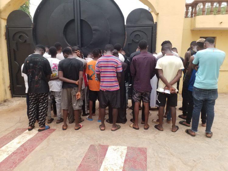 30 suspected Yahoo-Yahoo Boys busted in Ilorin