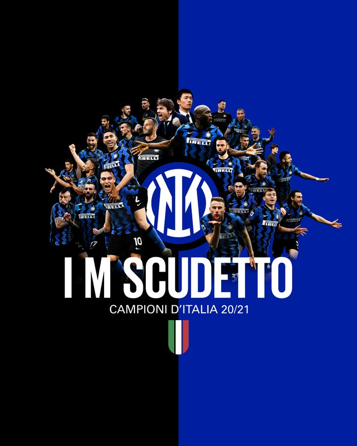 Inter Milan now champions of Seria A