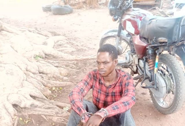 Kehinde John Moses arrested with fresh human head, hands