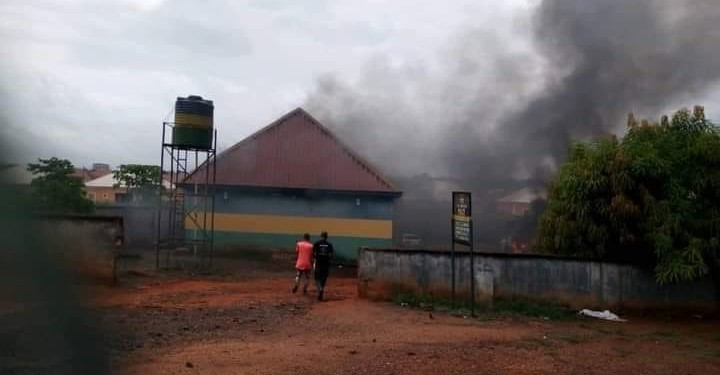 Mike Okiro Police station in Ubani attacked by hoodlums