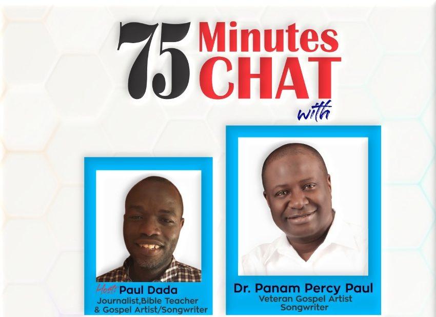 Dada is hosting Paul on Zoom Saturday