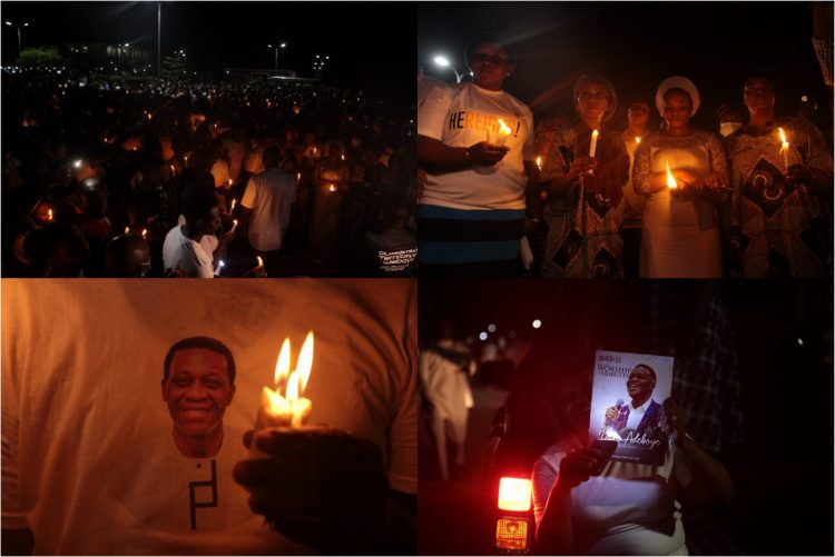 Candlelight procession for late Dare Adeboye