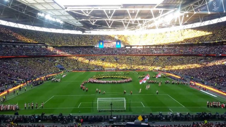 Wembly for Champions League final