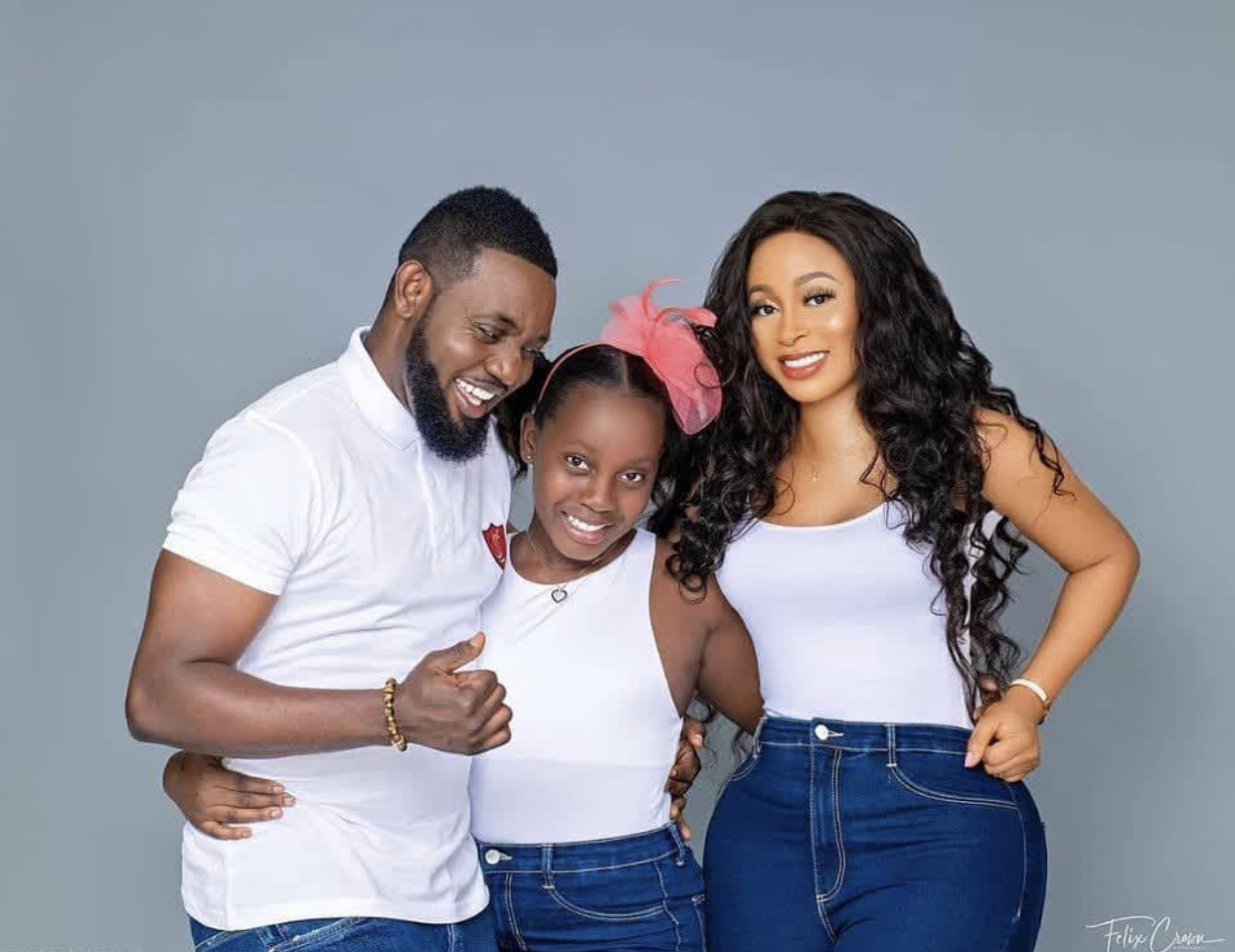 AY Comedian and his family