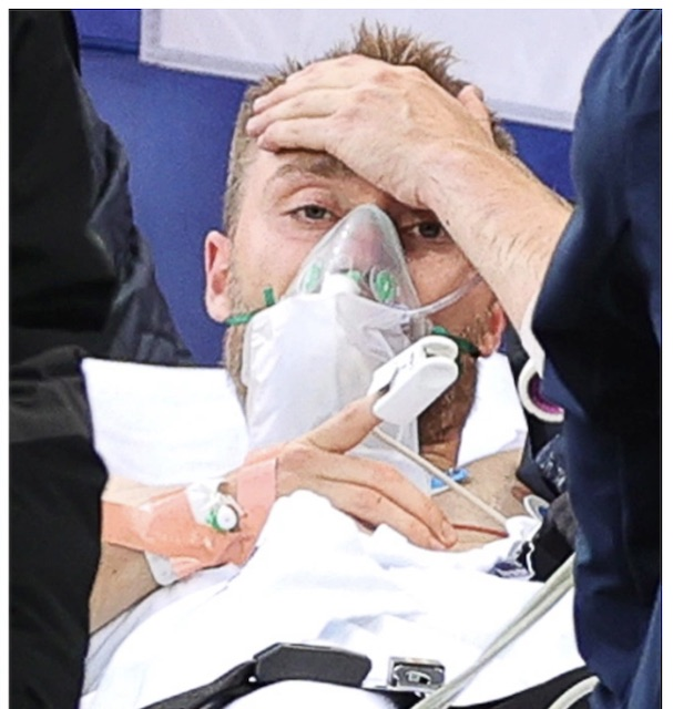 Christian Eriksen sends out message from hospital