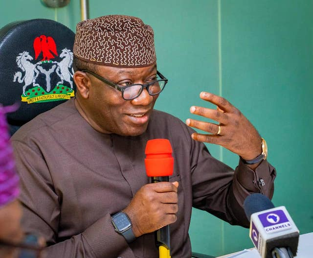 Gov Kayode Fayemi: inaugurates first private-owned cemetery in Ekiti state