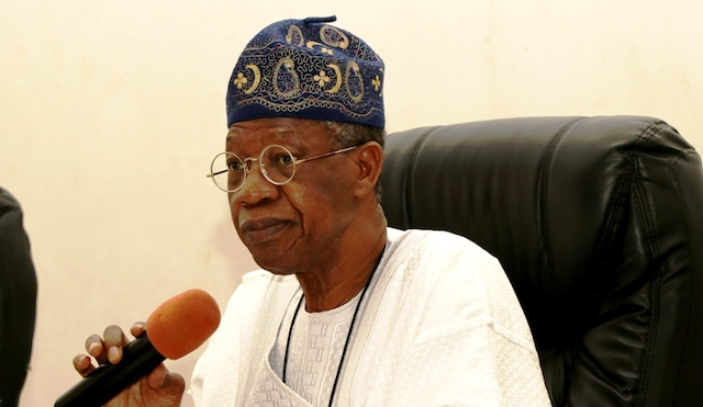 Lai Mohammed says suspending Twitter in Nigeria was a tough decision FG took
