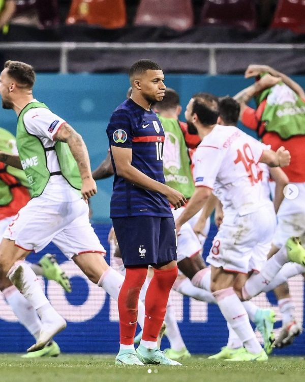 Kylian Mbappe: sad for the grave miss