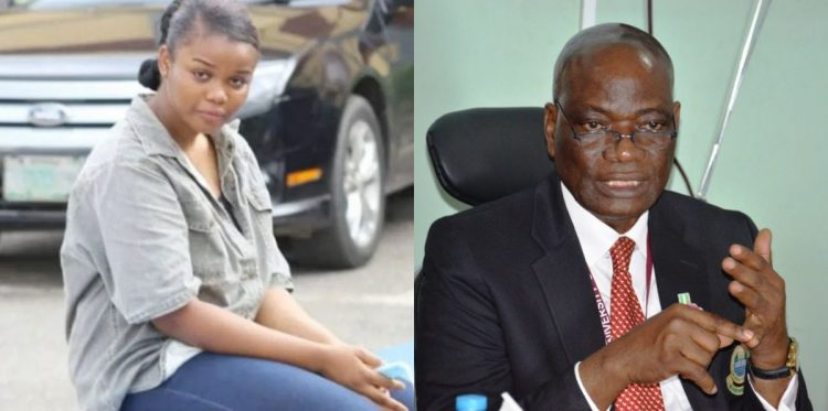UNILAG VC says Chidinma is a student of the school