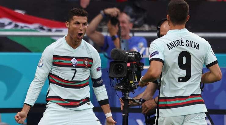 Euro 2020: Ronaldo hits double, sets European record