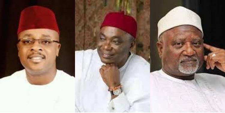 Faces of PDP Senators who fled to APC