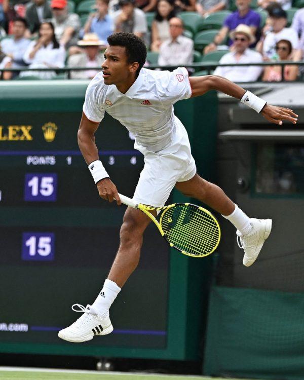 Felix Auger-Aliassime stuns Zverev to book first Wimbledon quarter-final