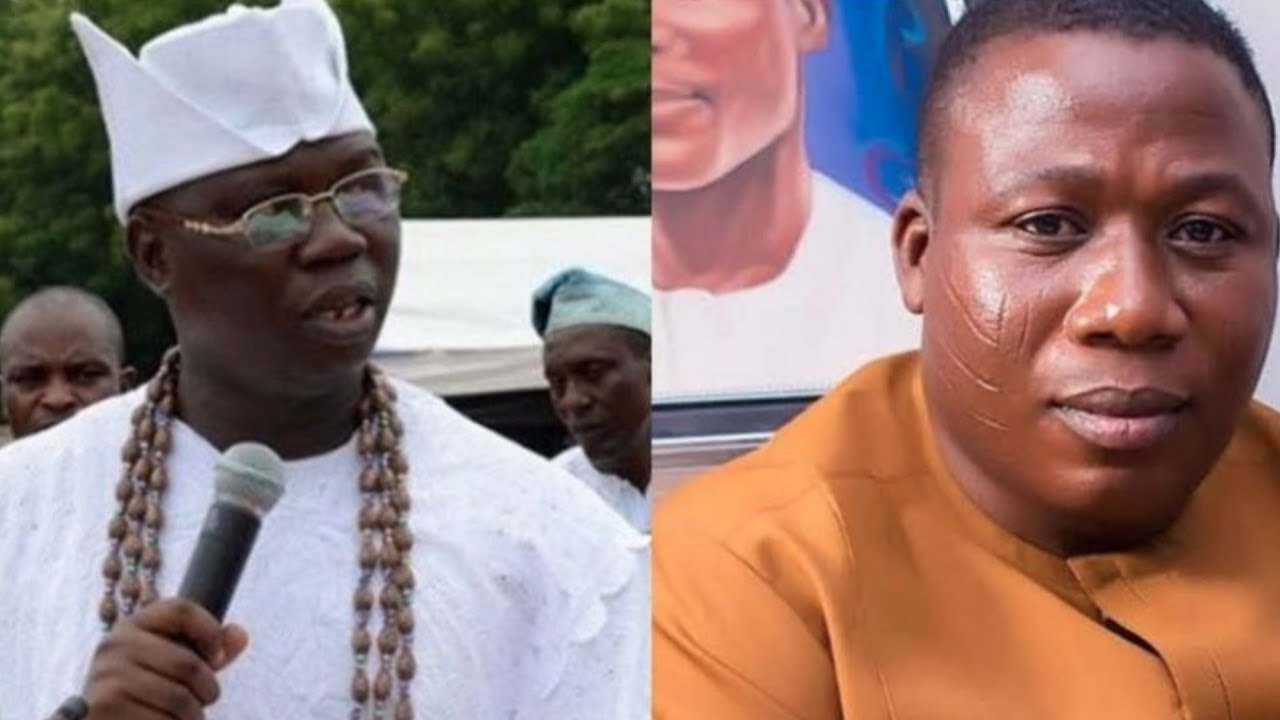 Sunday Igboho and Gani Adams