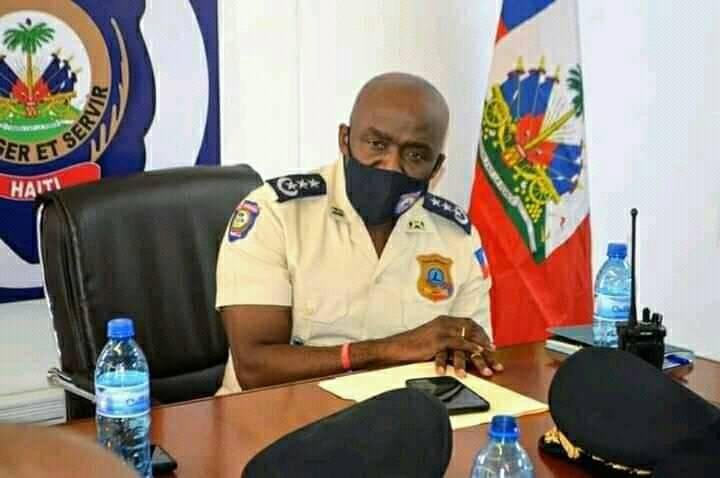Leon Charles Haiti police chief  says four assassins of President Moise killed, 2 arrested