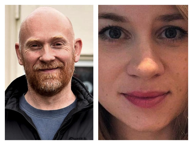 London Metropolitan policeman Wayne Couzens and Sarah Everard that he killed