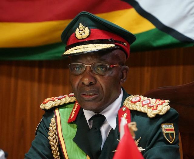Lt. General Edzayi Chimonyo head of Zimbabwe's military dies