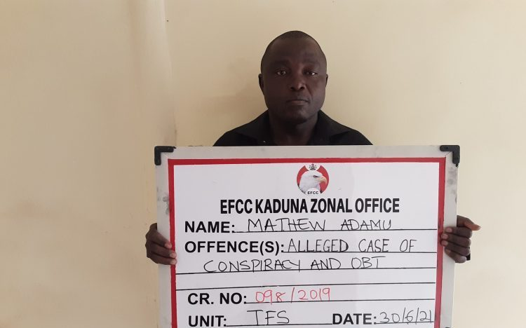 EFCC arraigns Adamu for allegedly stealing from Estate of deceased police officer