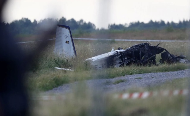 the crashed DHC-2 Turbo Beaver plane in Sweden kills 8 skydivers