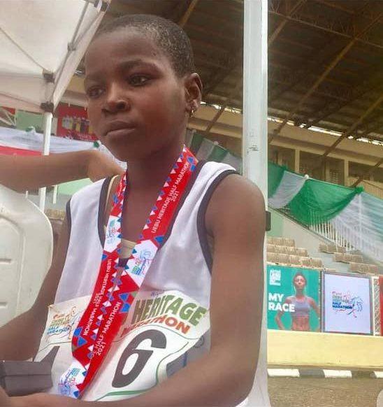 Abigael Ogunbowale completes 21km Ijebu Heritage Marathon