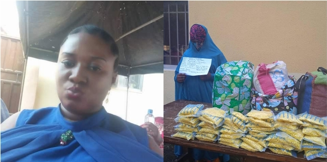 Suspected drug trafficker Chioma with multiple identities for carrying drugs