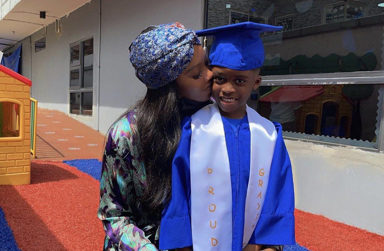 Tiwa Savage celebrates son, Jamil