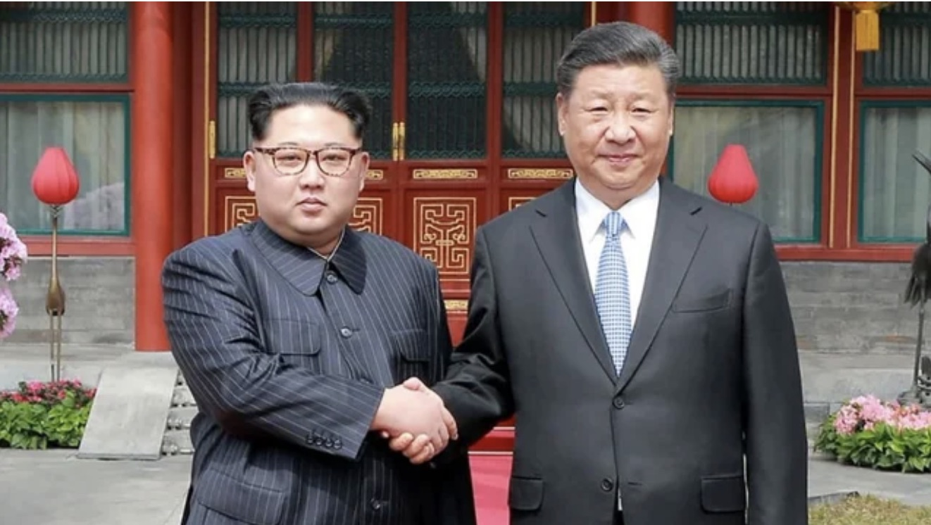 Kim Jong Un and Xi Jinping vow cooperation against foreign forces