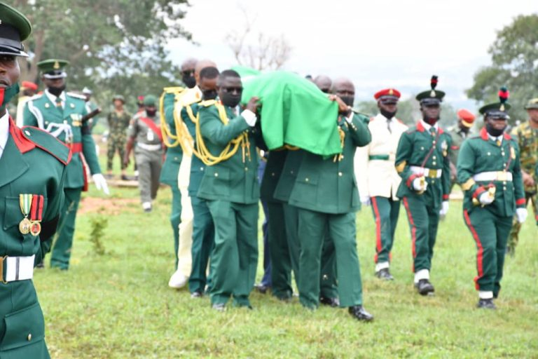 Army Says Final Farewell To Slain Maj. General Hassan Ahmed