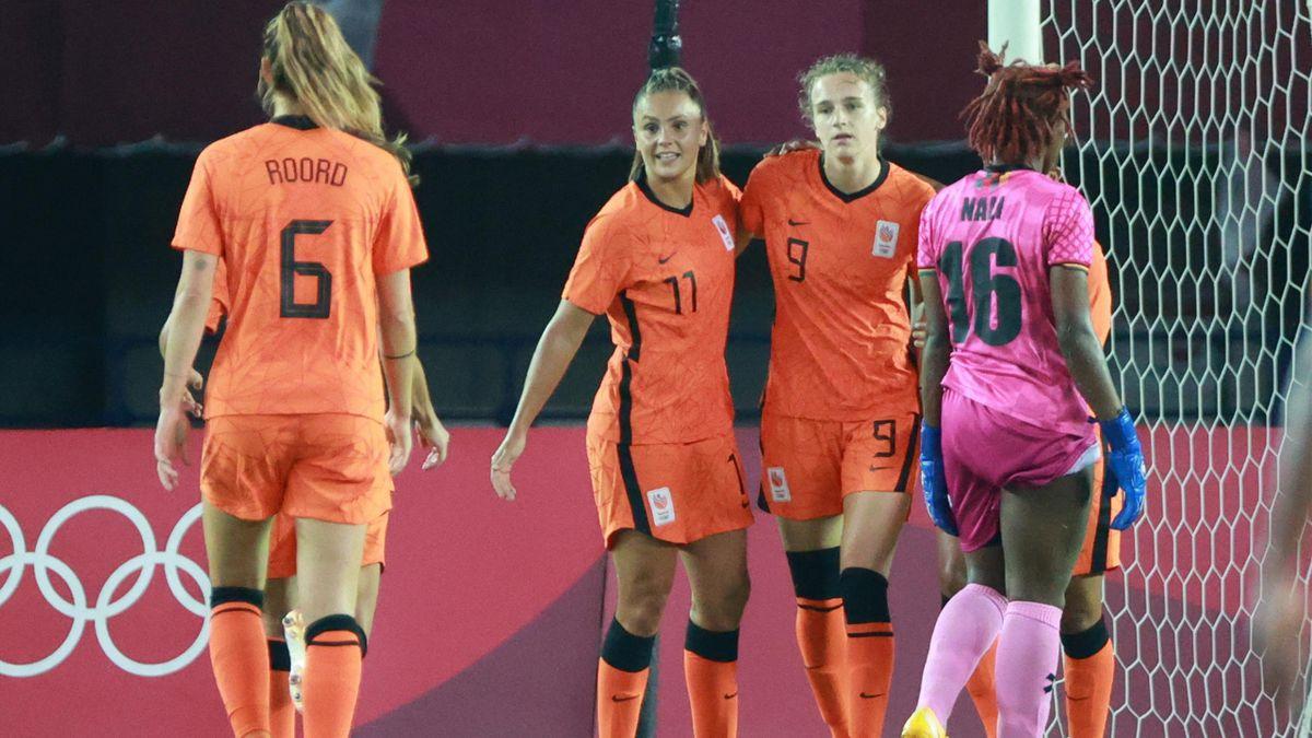 Netherlands put 10 goals past hapless Zambian Women team