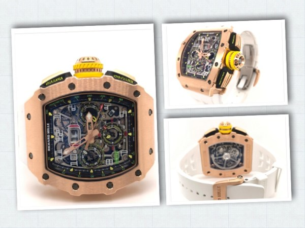 Richard Mille watch bought by Hushpuppi in December 2019