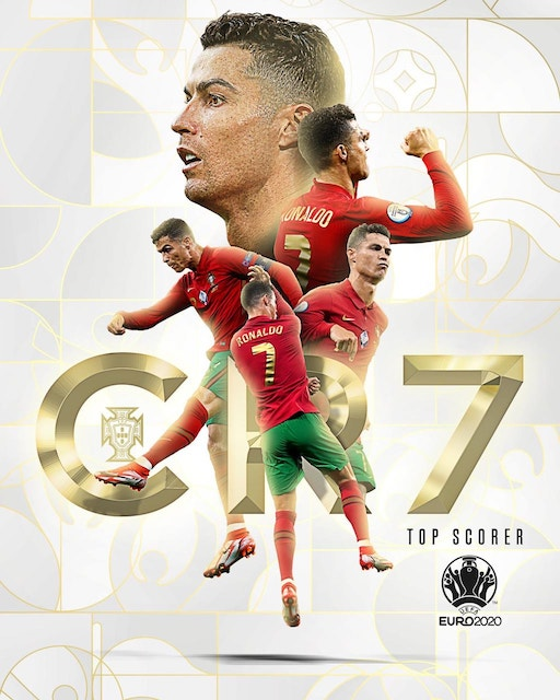Ronaldo wins Golden Boot of Euro 2020