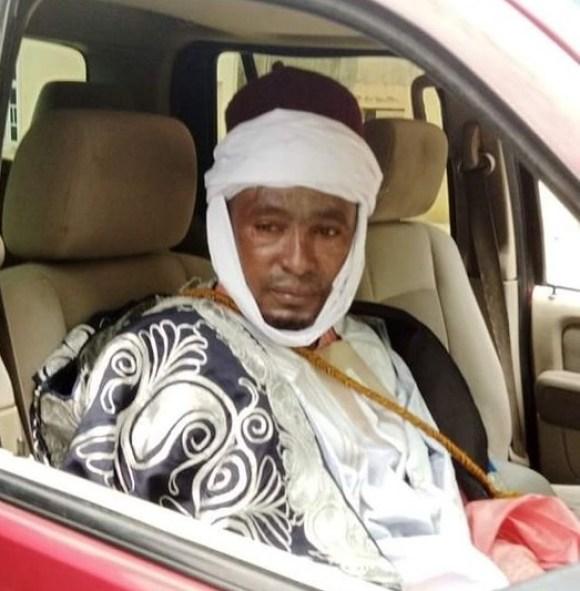 Adam Harun Sultan of Shuwa Arabs of Edo State installed on 4 August by Shehu of Borno