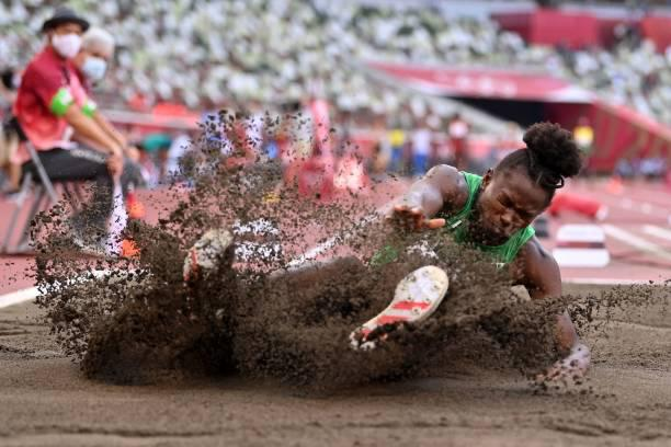 Tokyo Olympics: Nigeria's Ese Brume qualifies for final | Peakvibez