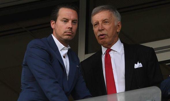 Josh and Stan Kroenke, Arsenal owners