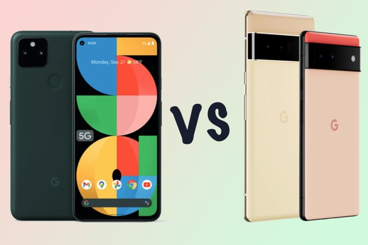 Google Pixel 5a 5G vs Pixel 6: Differences compared