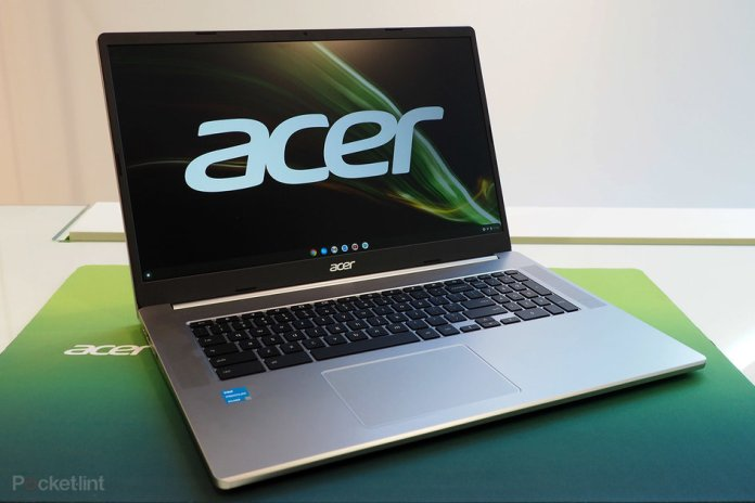 Acer launches first ever 17-inch Chromebook
