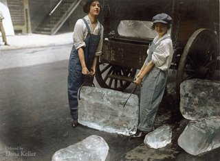 Colourised photos from history image 57