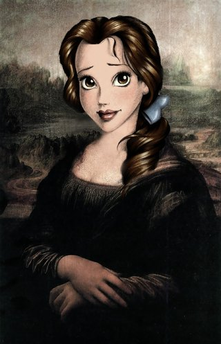 Amusing Images Of Cartoon Characters In Photoshopped Into Renaissance Paintings image 18