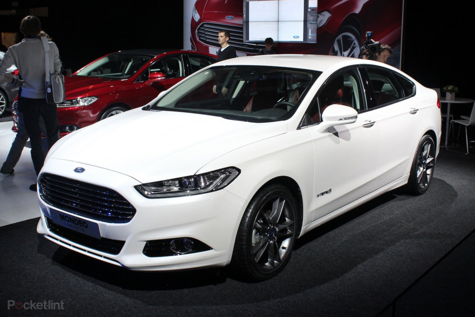 Ford Mondeo 2013 Pictures And Hands On