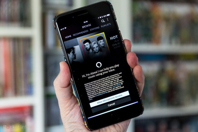 Amazon Music app for iOS and Android now has hands-free ...