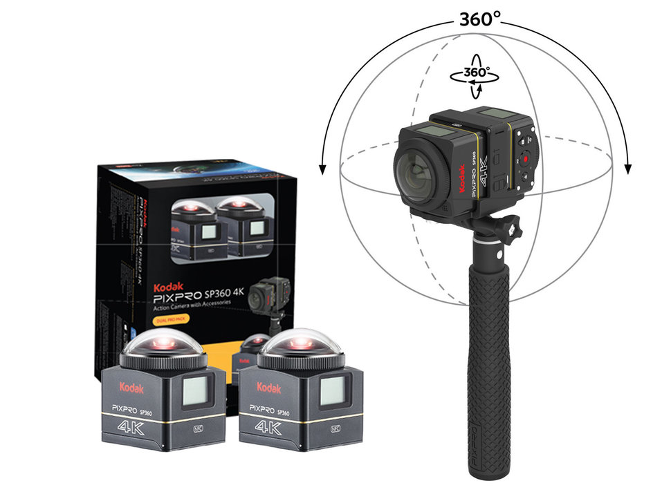 Image result for Pixpro SP360 4K action camera