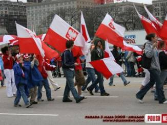 Polish Constitution May 3 Parade Chicago