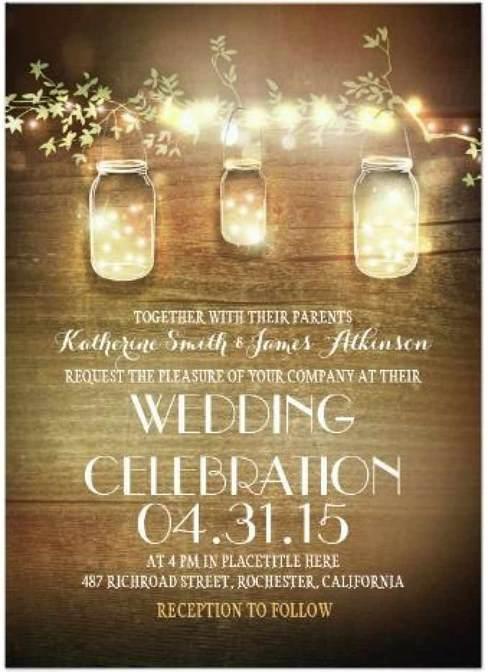 Miriam Kokolo Fairy Lights Amp Mason Jars Rustic Wedding