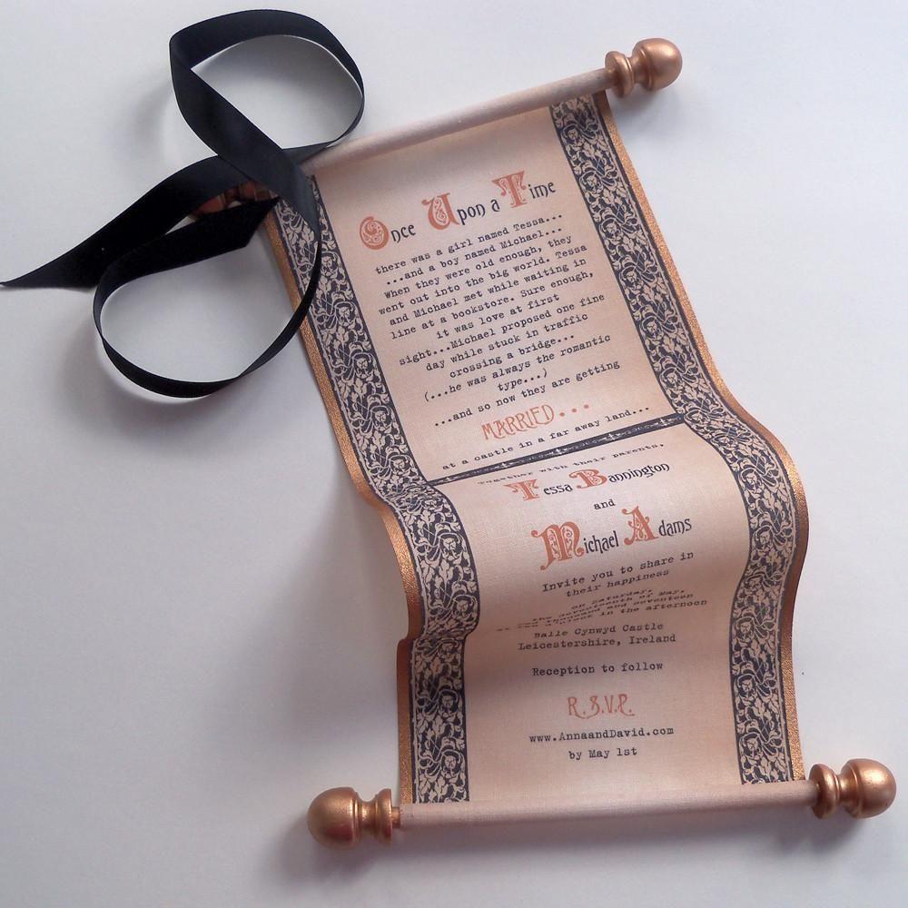 7 Contoh Desain Undangan Pernikahan Unik Yang Kekinian