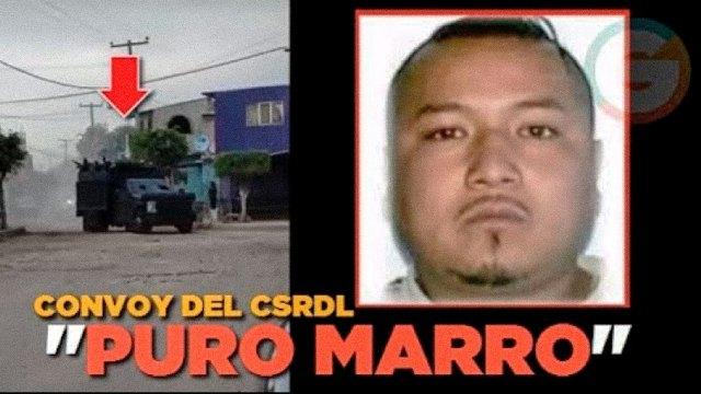 Video de Youtube, realizado por Grillonautas, en donde se señala claramente que el convoy que aparece en el mismo pertenece a sicarios del CSRL. Otros medios de Guanajuato señalaron erróneamente que el convoy pertenecía a sicarios del CDS entrando al estado de Guanajuato en apoyo al Marro.