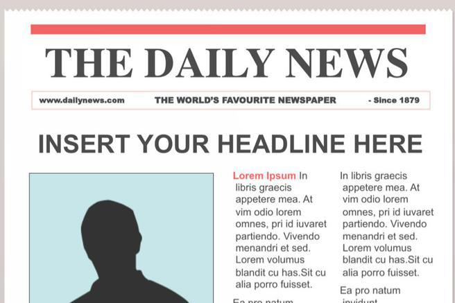 The Scoop Newspaper Template