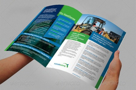 Financial Business Plan Template Excel Construction Brochure